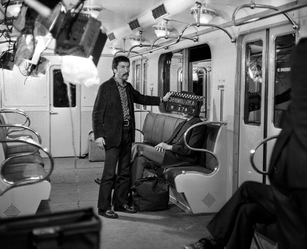 Киночулар Москванын метросунда түнү менен иштеген. Себеби күндүз тартуу иштерине уруксат берилген эмес