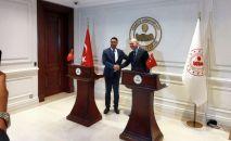 Өзгөчө кырдаалдар министри Бообек Ажикеев Түркияга барып ички иштер министри Сулейман Сойлу менен жолукту