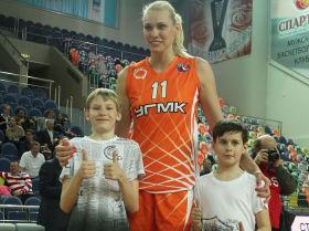 Игрок баскетбольного клуба УГМК Мария Степанова. Архивное фото