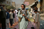Кабул шаарындагы Талибан кыймылынын мучөсү. Архив