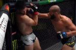YouTube-канал UFC Russia опубликовал видеоподборку лучших моментов турнира UFC Vegas 40. Бойцовский вечер состоялся накануне в Лас-Вегасе.