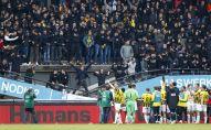 Обрушение трибуны с болельщиками на стадионе в Нидерландах