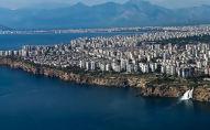 Вид на город Анталья, Турция