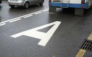 Выделенная полоса для движения общественного транспорта. Архивное фото