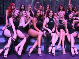 Участницы бурлеск-шоу Fantasy в Лас-Вегасе