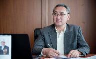 Назначенный председателем Государственной службы регулирования и надзора за финансовым рынком Улан Сарбанов. Архивное фото
