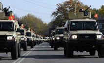 Пограничной службе ГКНБ купили 40 единиц новой бронированной военной техники