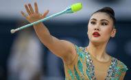 Кыргызстандык гимнаст Айша Изабекова