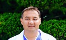 Улуттук онкология жана гематология борборунун онкологу, маммолог, жогорку категориядагы дарыгер Ибрагим Алиев