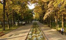 Так Бишкек выглядел еще вчера, 21 октября. Уходящая неделя была солнечной и теплой, воздух прогревался до 19 градусов.