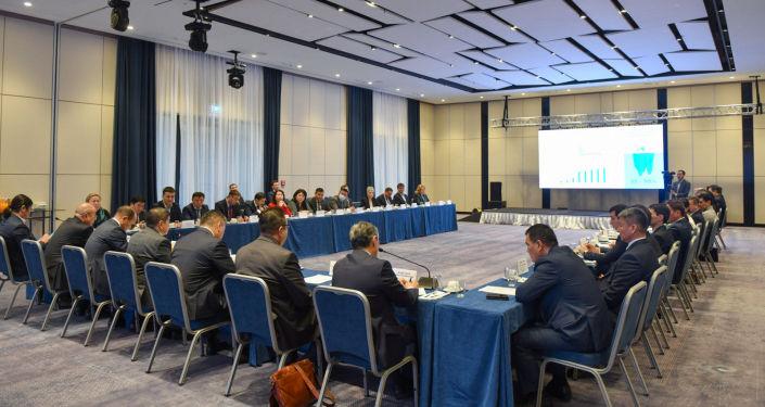 Бизнес-завтрак руководителей коммерческих банков с кабинетом министров. 22 октября 2021 года