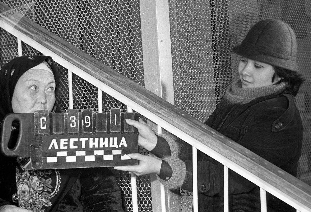 Кыска метраждуу тасма Фрунзе (азыркы Бишкек) шаарында тартылган
