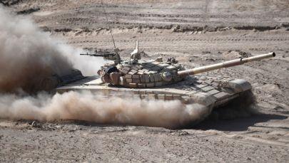 Танк Т-72. Архив