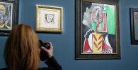 Испаниялык сүрөтчү Пабло Пикассонун Лас-Вегастагы отелде 20 жыл илинип турган 11 картинасы тоорукта 110 миллион долларга сатылып кетти