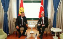 Кыргызстан менен Түркиянын ички иштер министрлери Улан Ниязбеков менен Сулайман Сойлу Стамбул шаарында жолукту