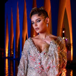 Египеттик модель Хеба Эль-Сиси кинофестивалдын алкагында тасма көрсөтүү учурунда