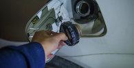 Бензин в Кыргызстане. Архивное фото