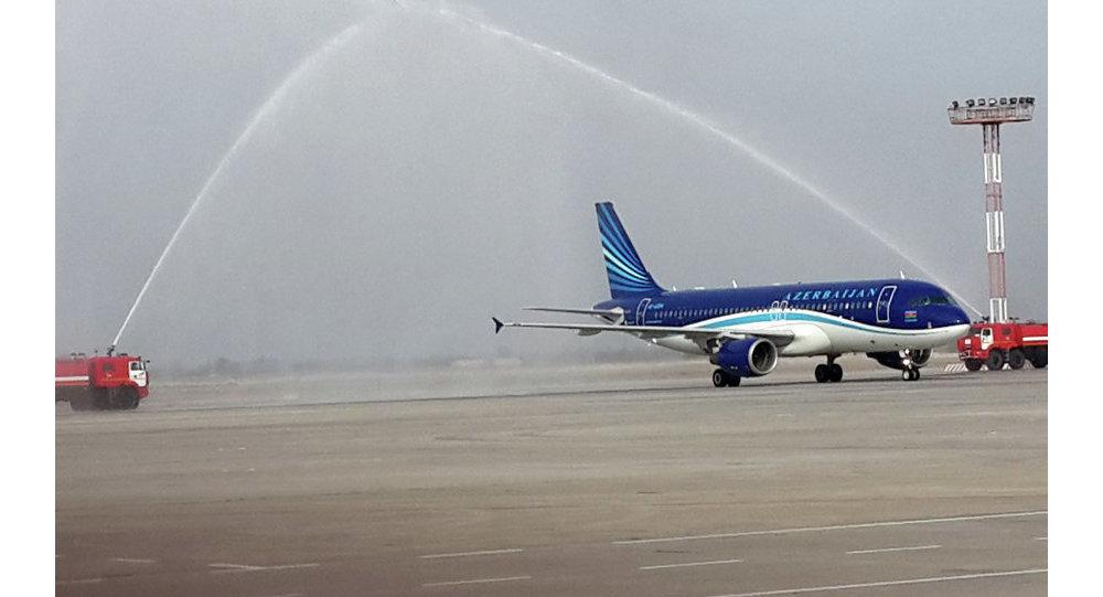 ": Началось регулярное авиасообщение по маршруту "" Бишкек-Баку-Бишкек"""