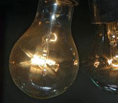 Лампа накаливания. Архивное фото