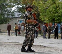 Кабулдагы афган аскери. Архив