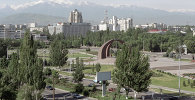 Панорама города Бишкека. Архивное фото