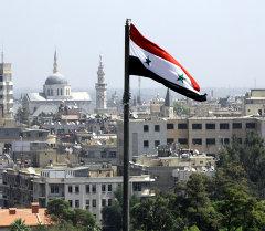 Дамаск шаарына көрүнүш. Архив