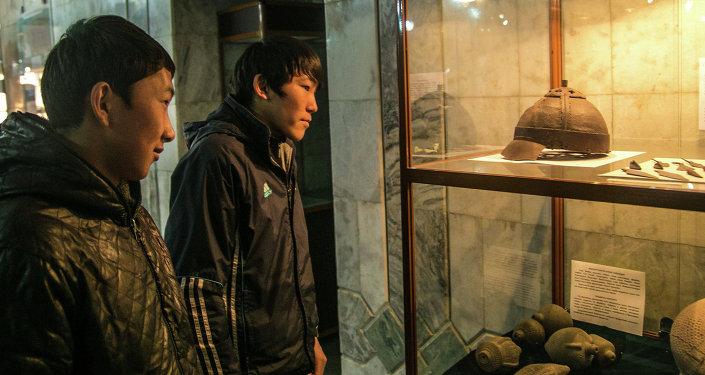 Энесай кыргыздары көргөзмөсү