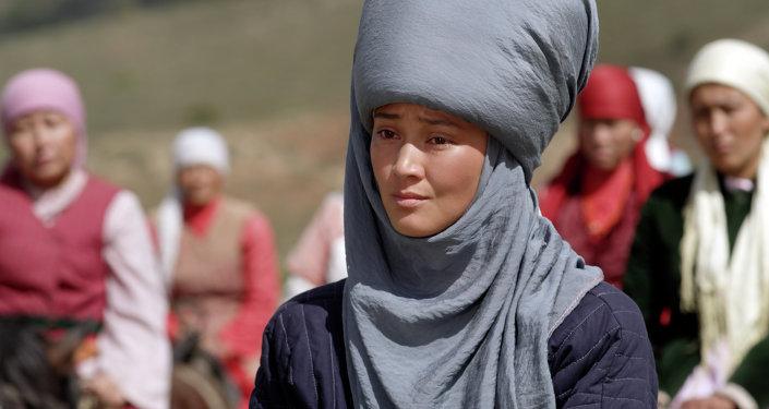 Архивное фото актрисы Элины Абай кызы