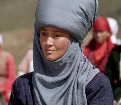 Актриса Элина Абай кызы. Архив