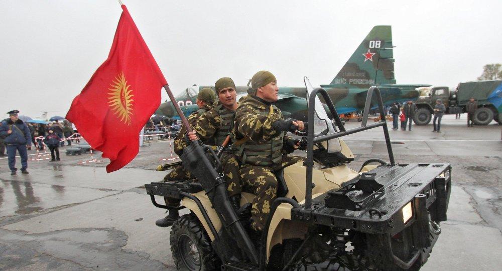 10-летие открытия базы ОДКБ в городе Кант в Киргизии