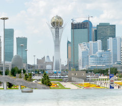Астана шаары, Казакстан. Архив