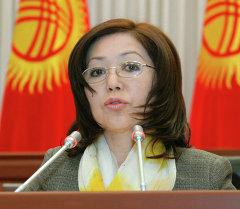 Мурдагы депутат Урмат Аманбаева. Архив