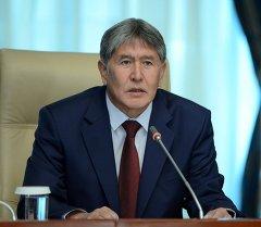 Алмазбек Атамбаев коргоо кеңешинин жыйынында