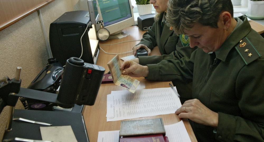 Работа морского пограничного пункта пропуска Морской торговый порт Калининград морского порта Калининград