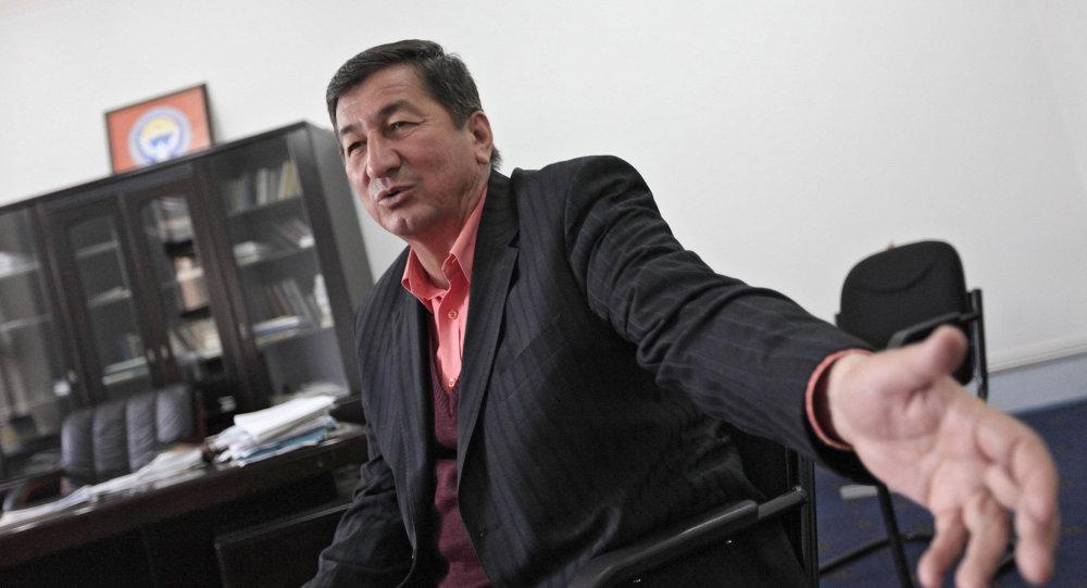 Лидер узбекской общины Джалал-Абада Калимджан Батыров