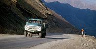 На перевале Тамды Ош-Памирского тракта