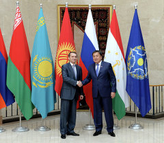 Визит председателя Госдумы РФ С.Нарышкина в Киргизию