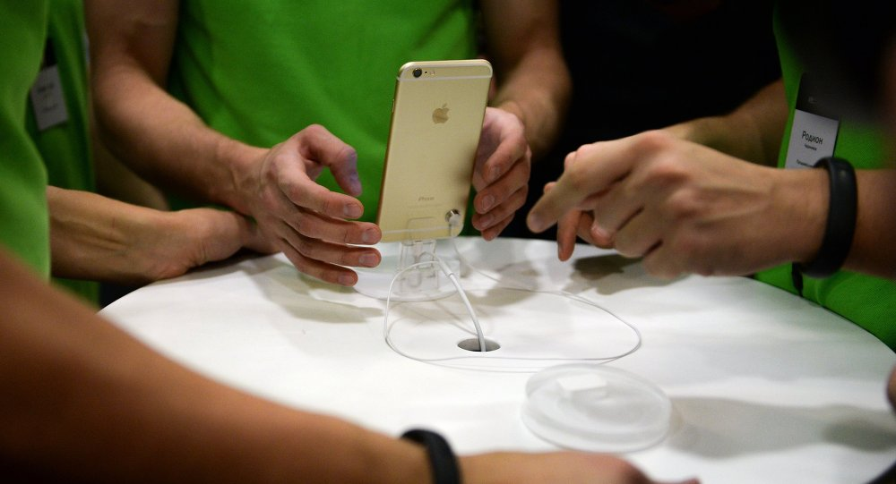 Старт продаж iPhone 6 и iPhone 6 plus в России