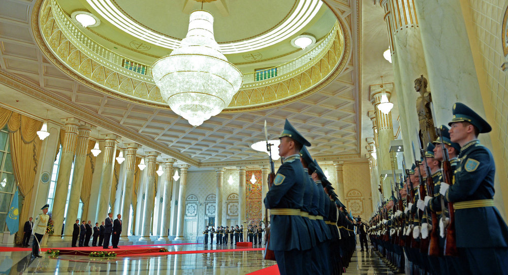 Визит Президента Кыргызской Республики Алмазбека Атамбаева в Казахстан