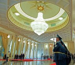 Здание правительства Казахстана. Архивное фото