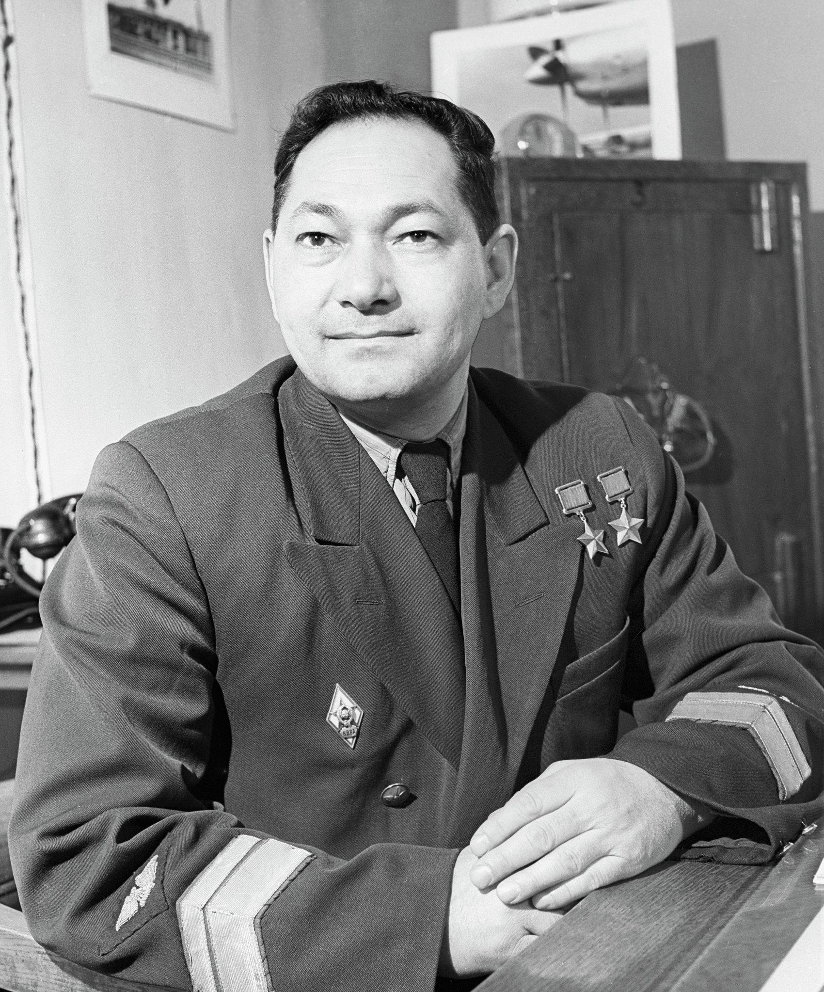 Герой Советского Союза Талгат Бегельдинов