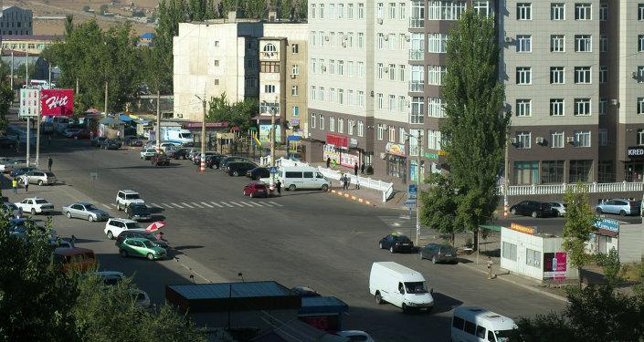 Пересечение двух автодорог