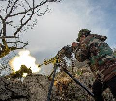Сирия аскерлери. Архивдик сүрөт