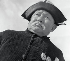 Залкар манасчы Саякбай Каралаев. Архив