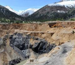 Добыча угля в Кара-Кече