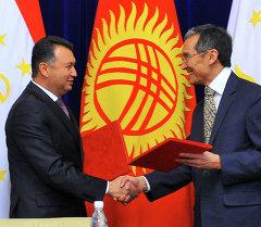 В Кыргызстан прибыл премьер-министр Таджикистана