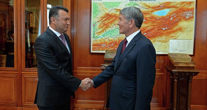 Атамбаев и Расулзода обсудили делимитацию и демаркацию границ