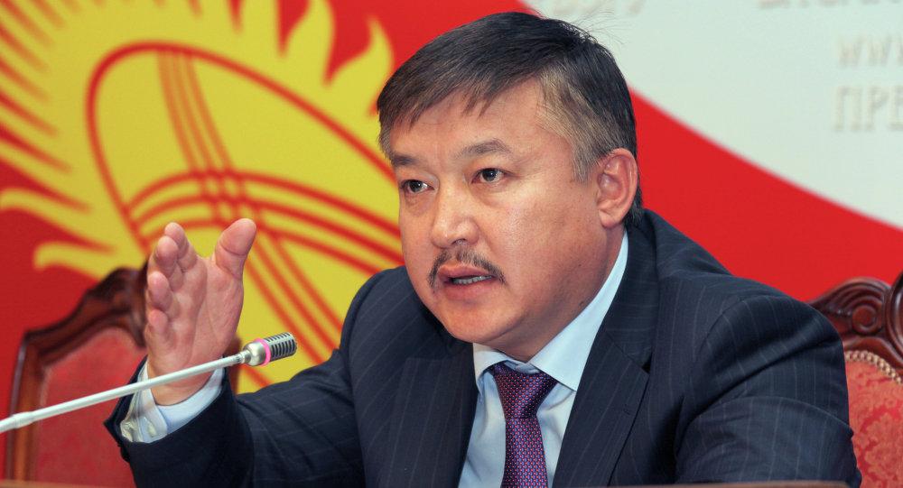 Депутат Жогорку Кенеша КР Ахматбек Келдибеков