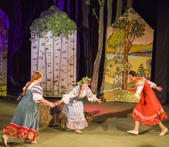 Премьера детского спектакля Иван да Марья, Театр русской драмы,  Бишкек