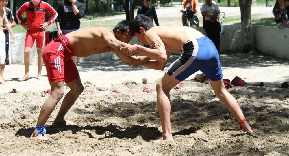 Чемпионат страны по пляжной борьбе